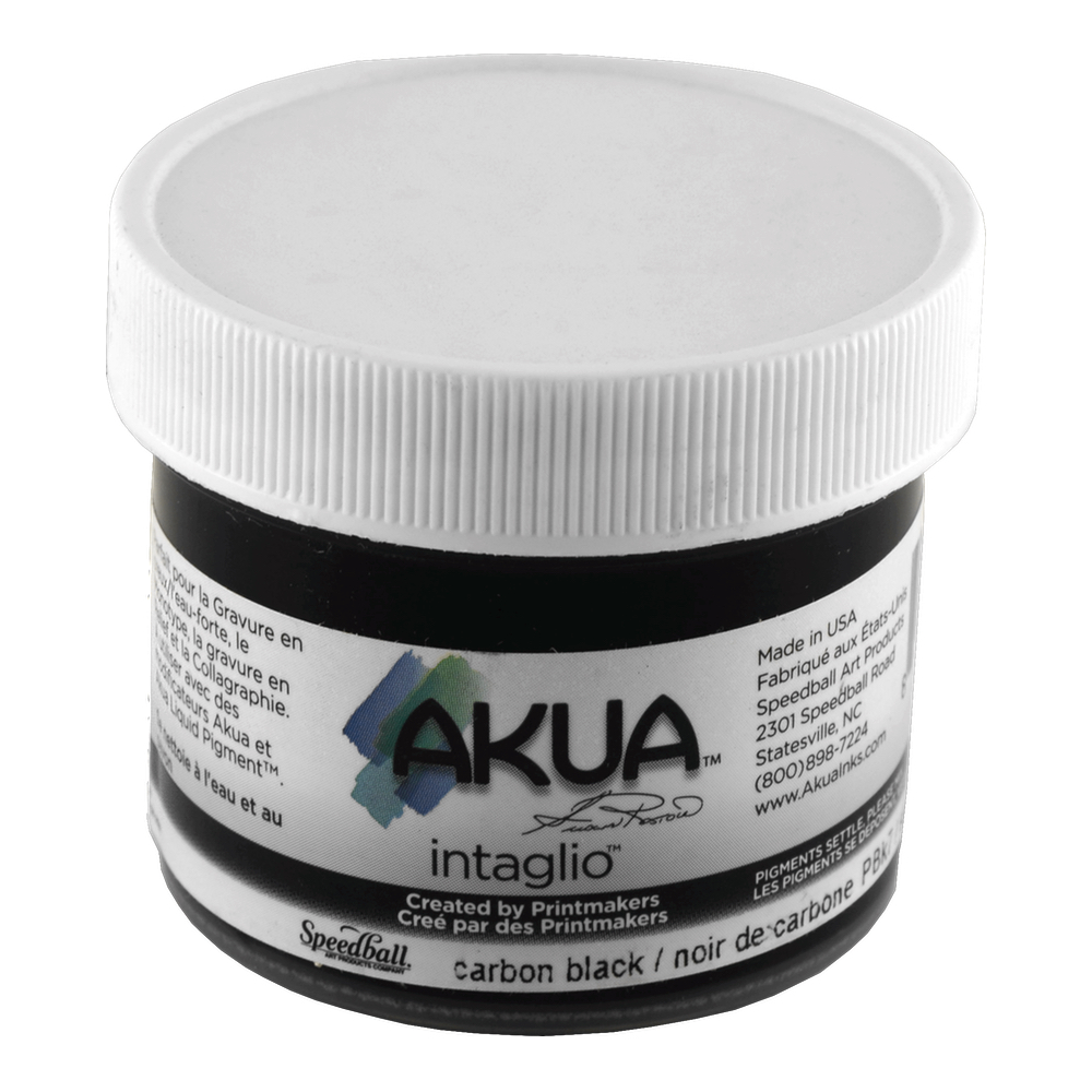 Akua Intaglio Ink 2 Oz Carbon Black