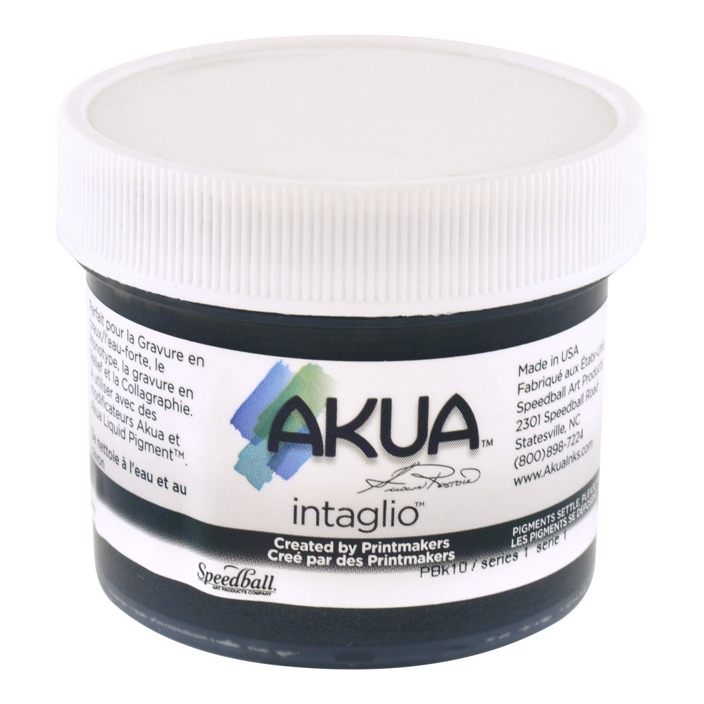 Akua Intaglio Ink 2 Oz Graphite Gray