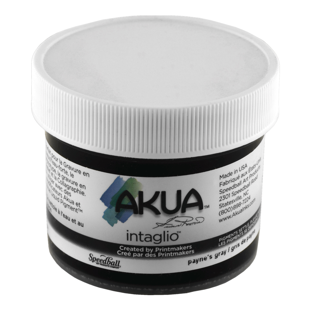 Akua Intaglio Ink 2 Oz Paynes Gray