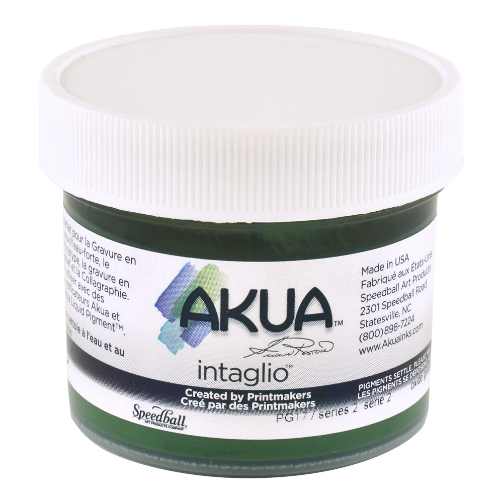 Akua Intaglio Ink 2 Oz Oxide Green
