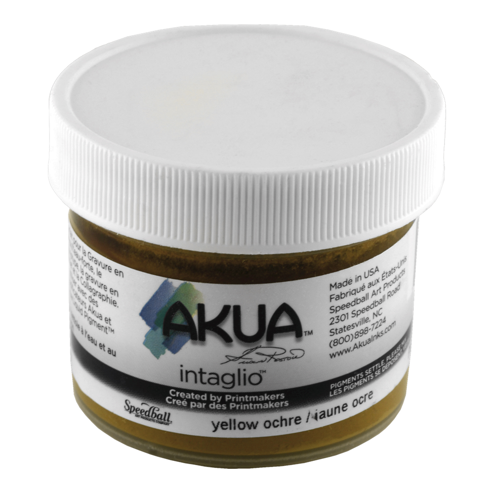 Akua Intaglio Ink 2 Oz Yellow Ochre