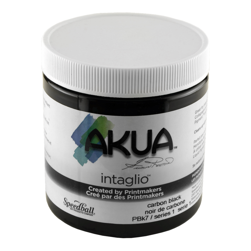Akua Intaglio Ink 8 Oz Carbon Black