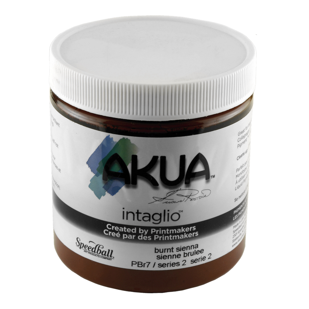 Akua Intaglio Ink 8 Oz Burnt Sienna