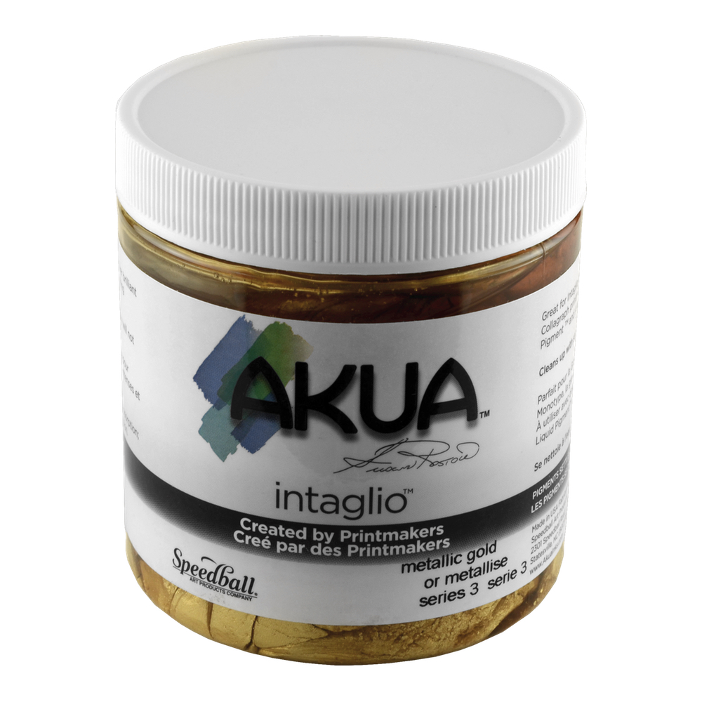 Akua Intaglio Ink 8 Oz Metallic Gold