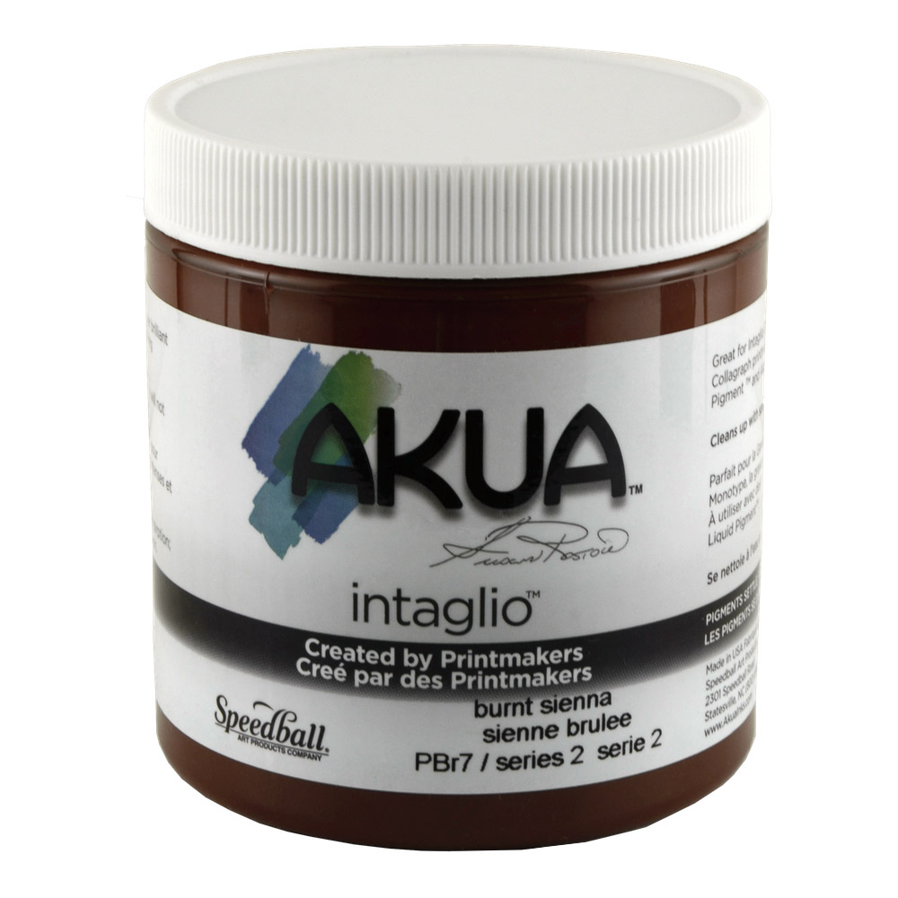 Akua Liquid Pigment 4 Oz Burnt Sienna