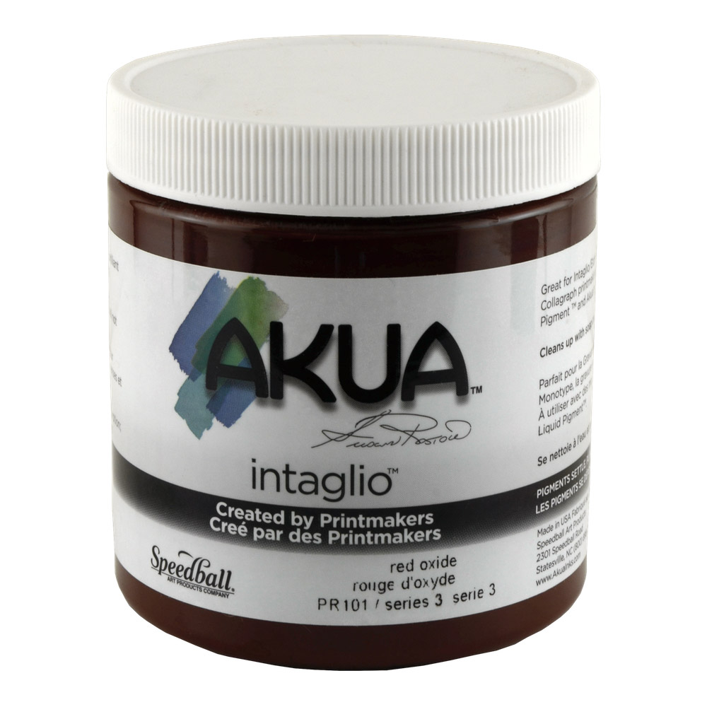 Akua Liquid Pigment 4 Oz Red Oxide
