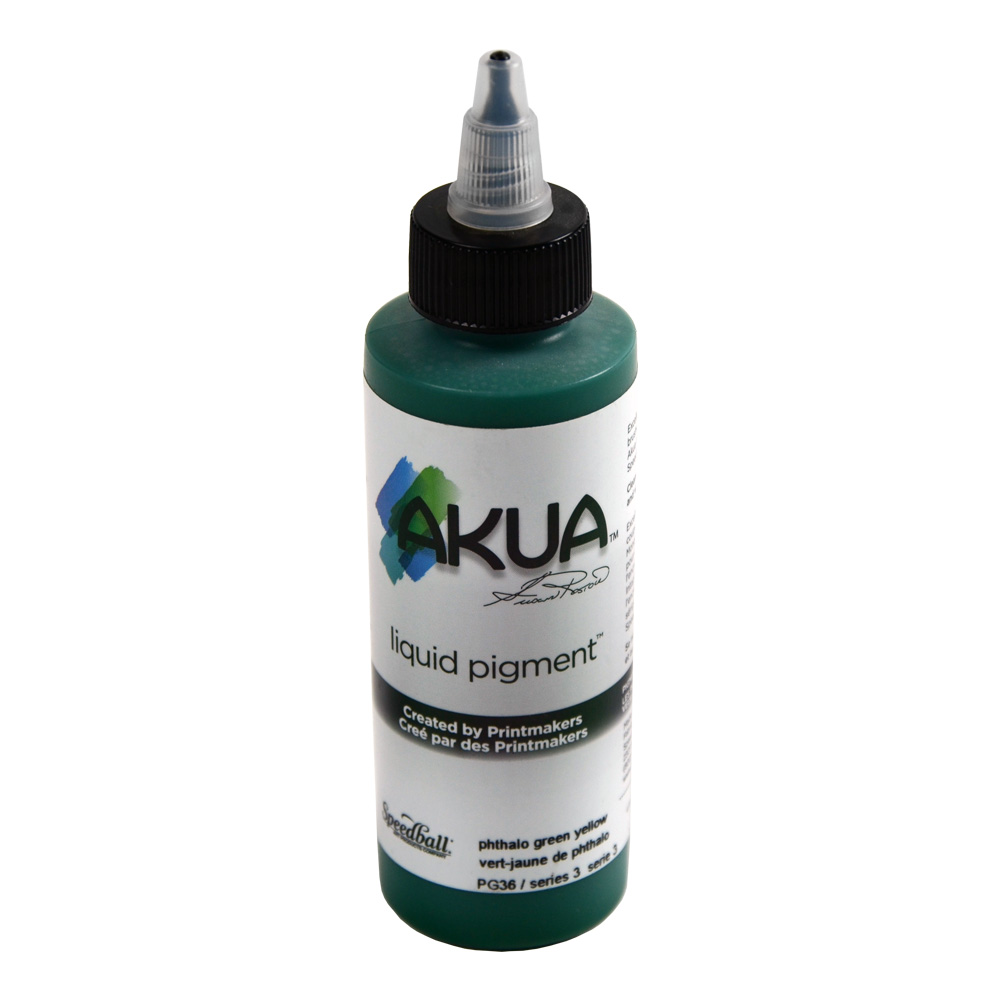 Akua Liquid Pigment 4 Oz Phthalo Green/Yellow