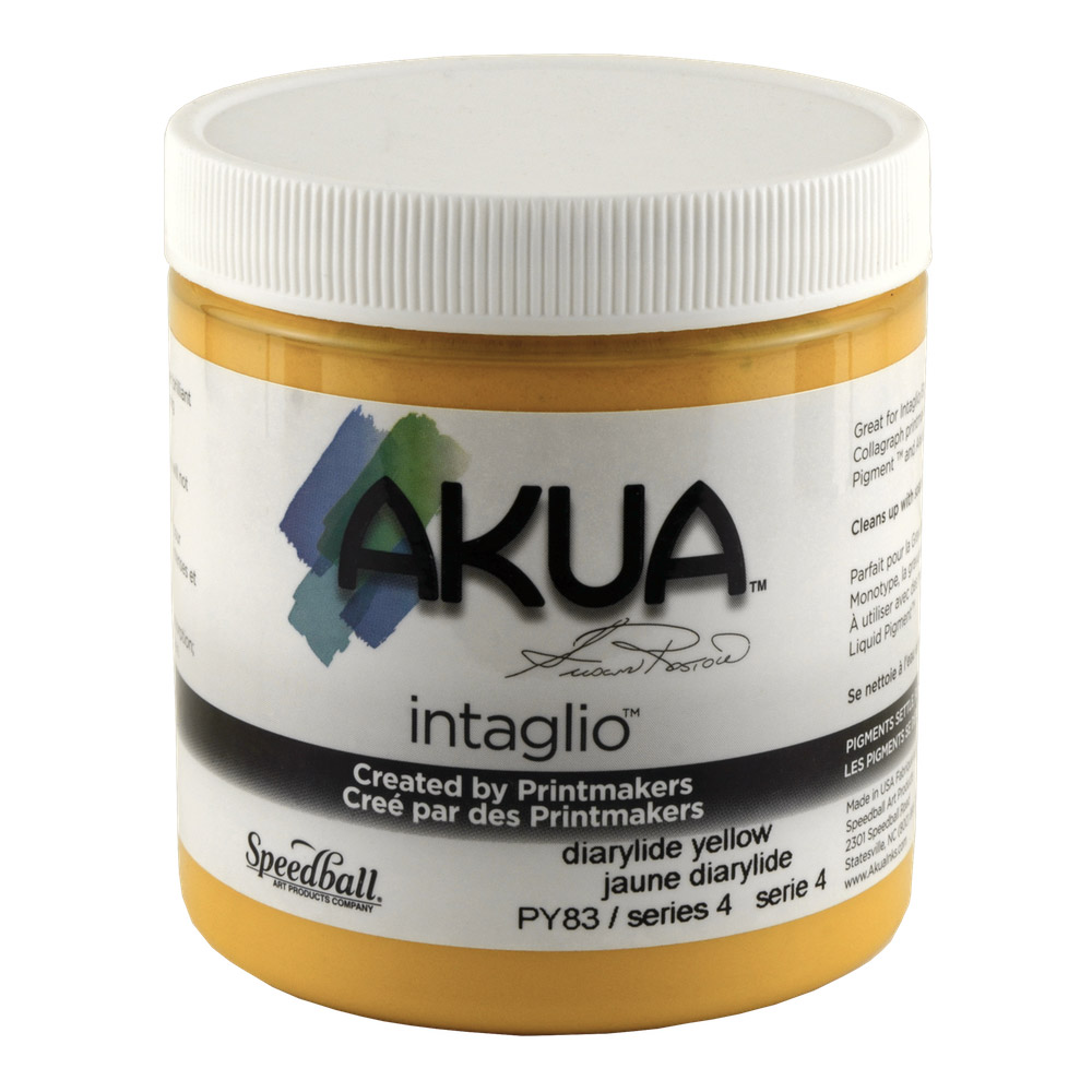 Akua Liquid Pigment 4 Oz Dairylide Yellow