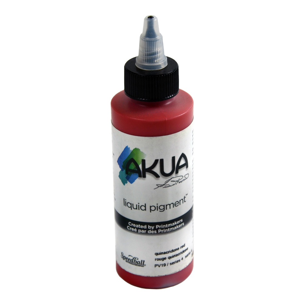 Akua Liquid Pigment 4 Oz Quinacridone Red