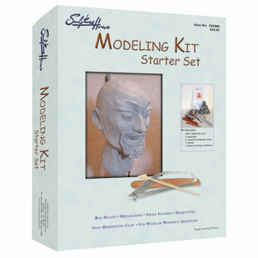 Sculpture House Modeling Kit Starter Set