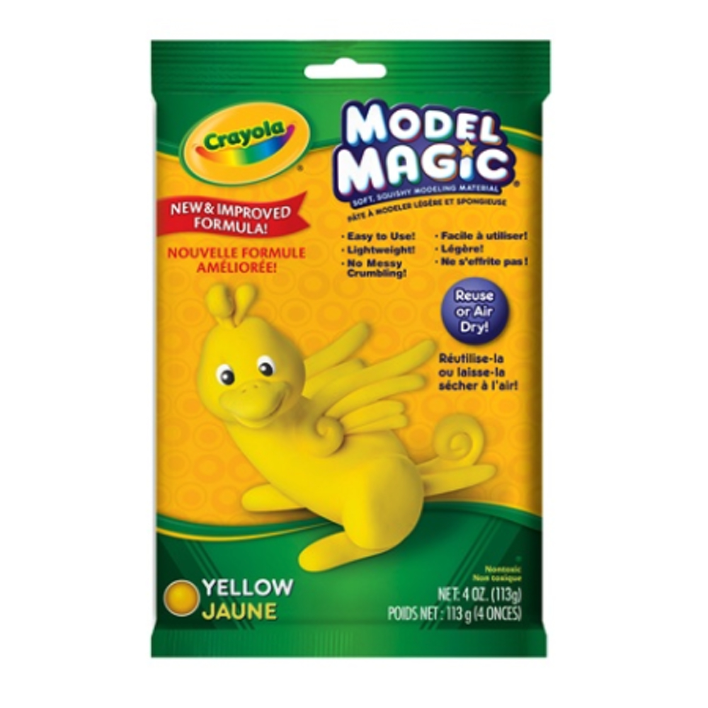 Crayola Model Magic 4 Oz Yellow