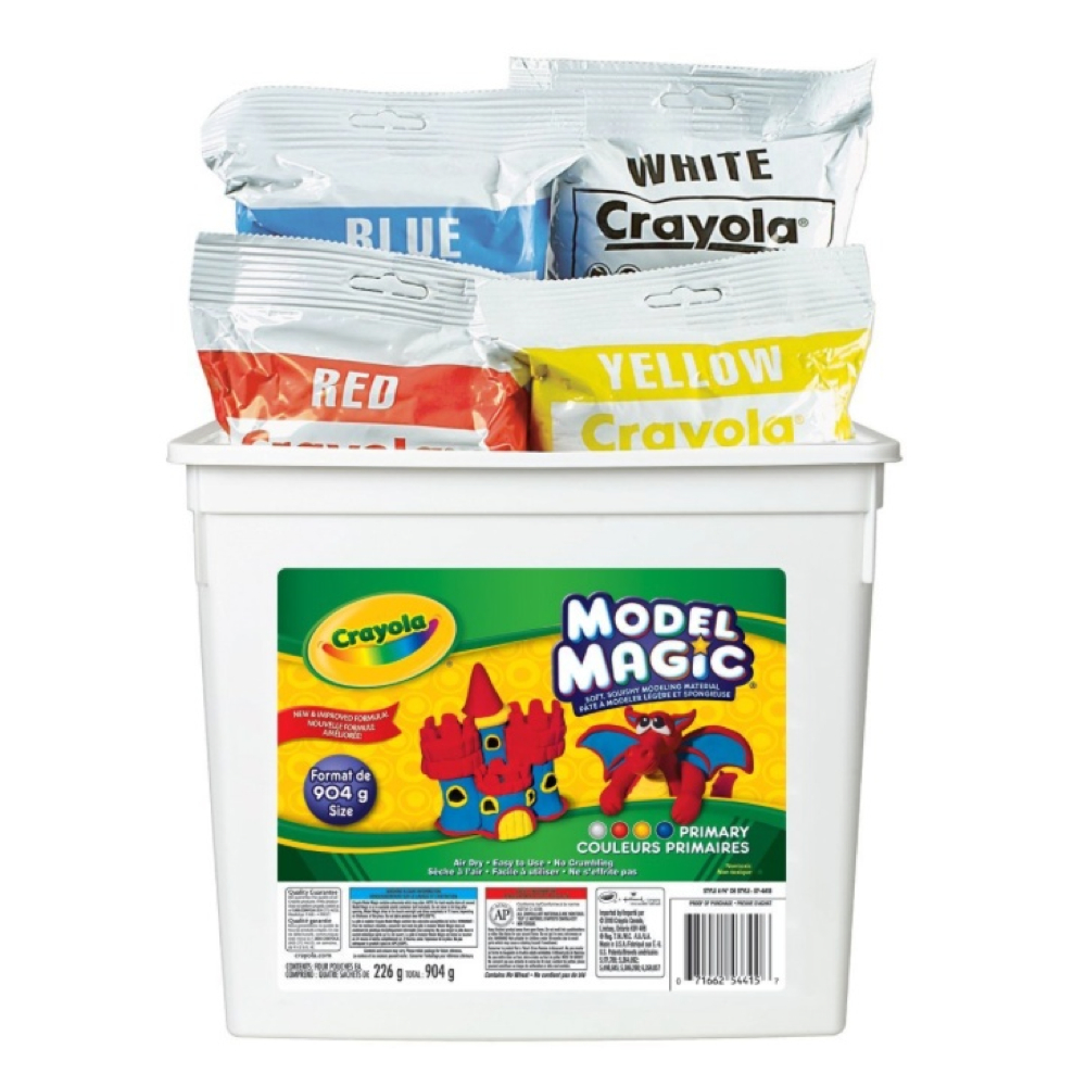 Crayola Model Magic 2Lb Tub 4 Colors