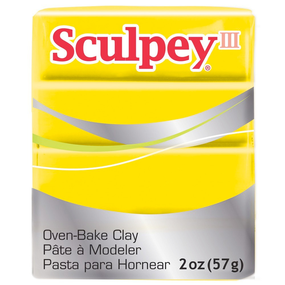 Sculpey 3 Yellow 072