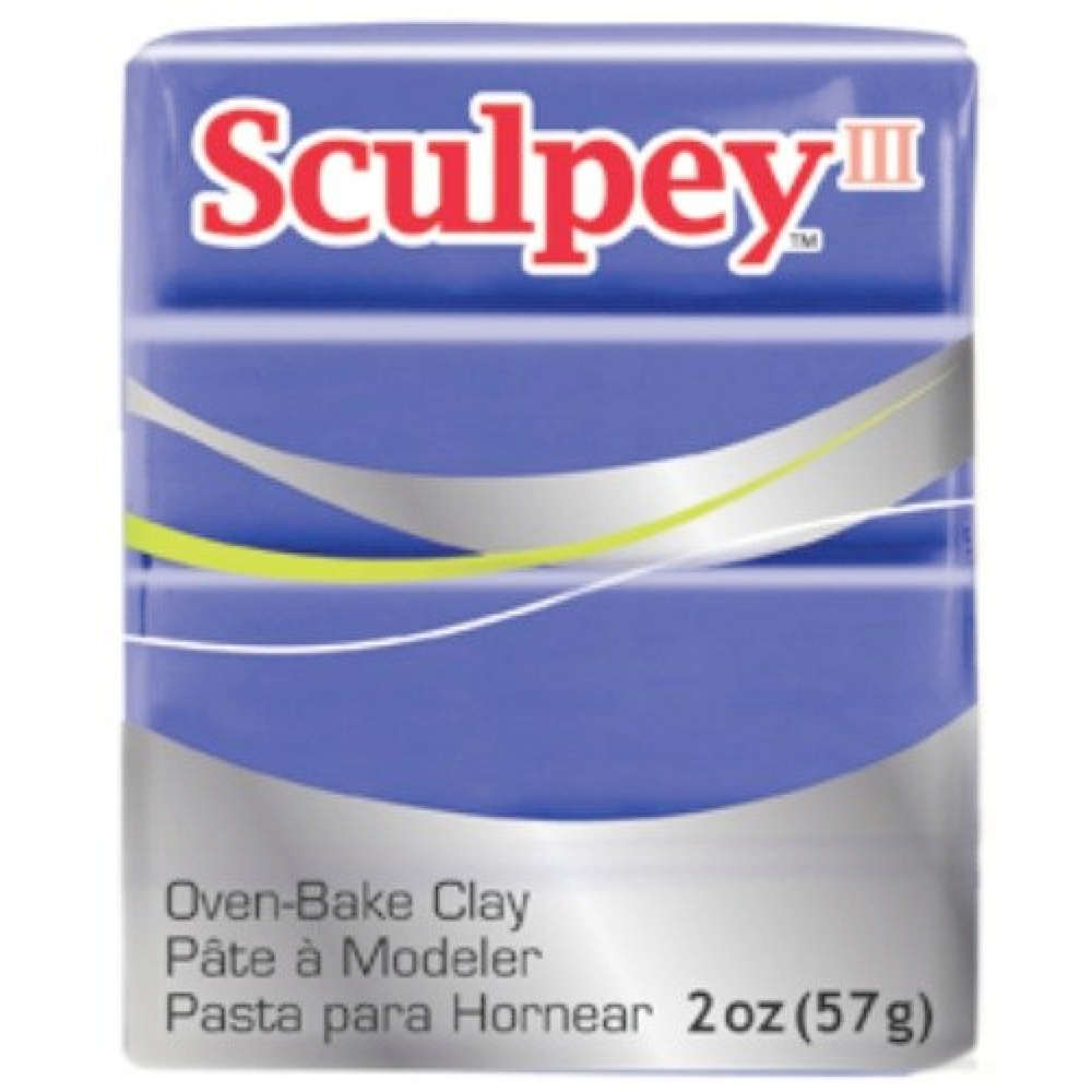 Sculpey 3 Purple Brilliant 513
