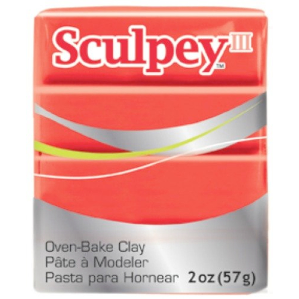 Sculpey 3 Red Hot Red 583