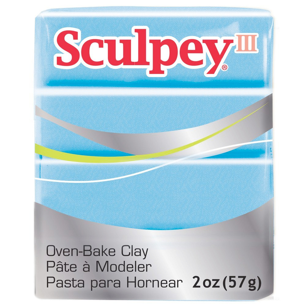 Sculpey 3 Light Blue Pearl 1103