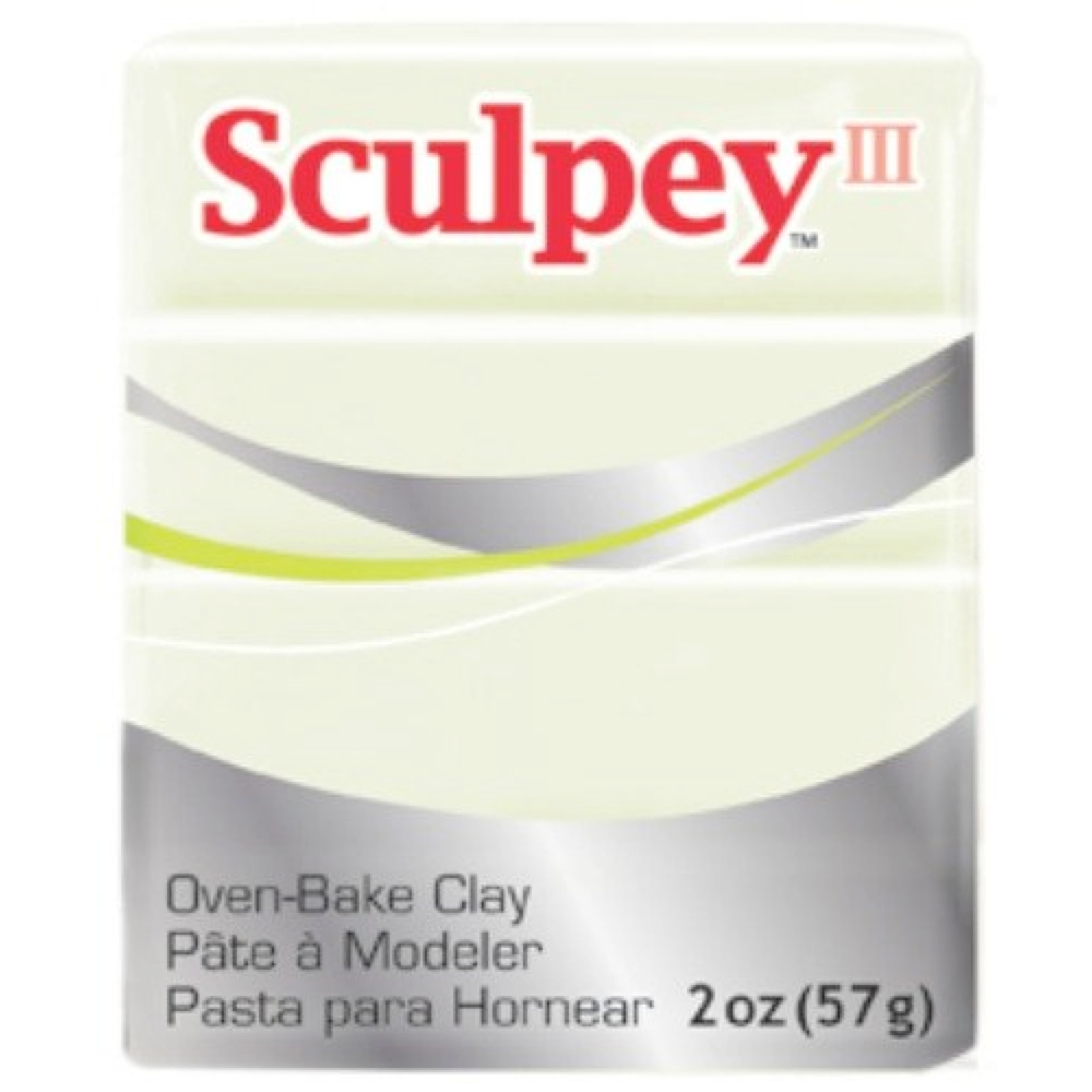 Sculpey 3 Glow-N-The-Dark 1113