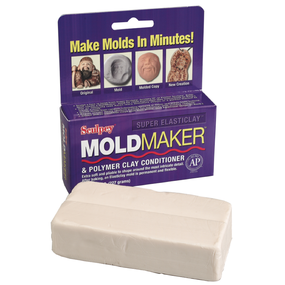 Super Elasticlay Moldmaker Neutral 8 Oz