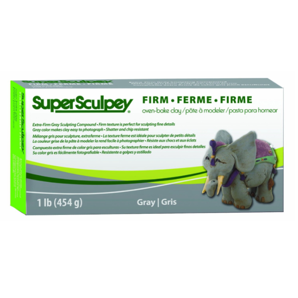 Super Sculpey X-Firm Gray 1Lb