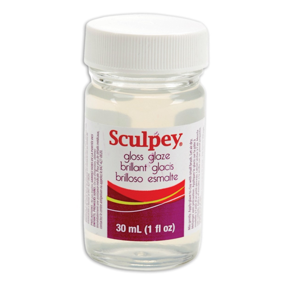 Sculpey Glaze Gloss 1 Oz