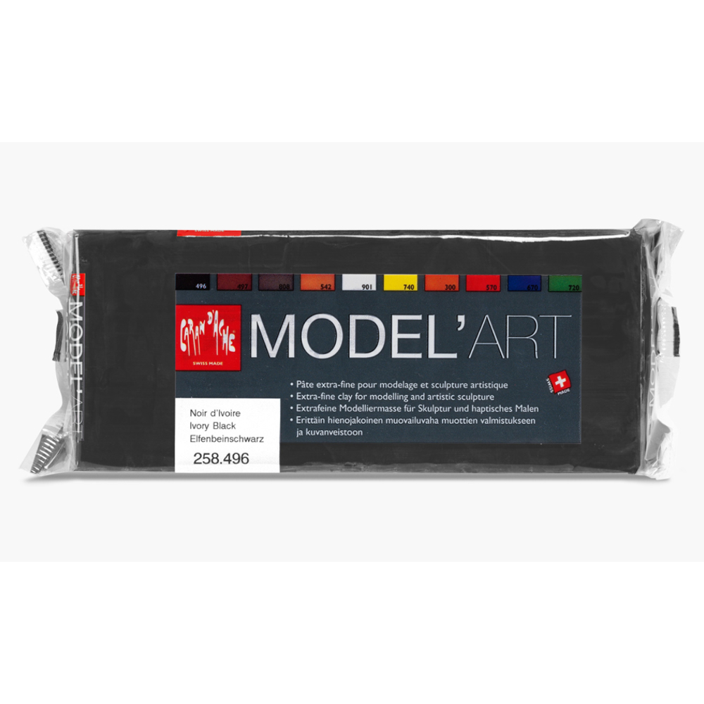 Model'art Clay Ivory Black