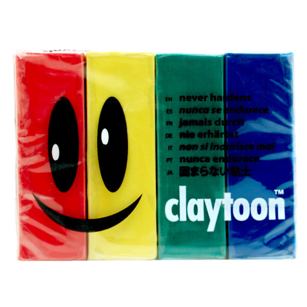 Claytoon Set Primary Colors 18150