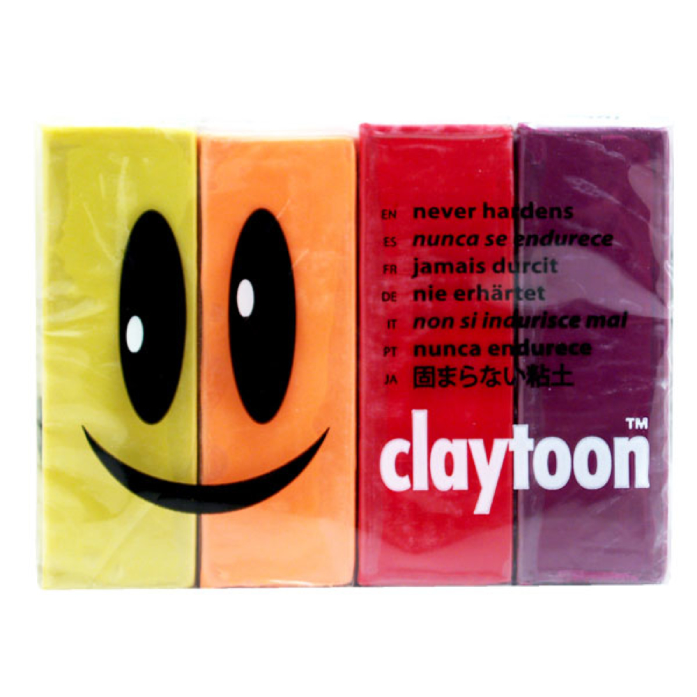 Claytoon Set Hot Colors 18157