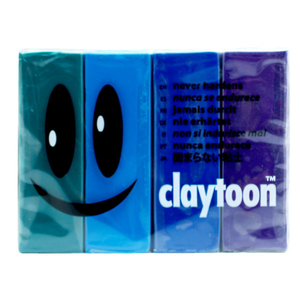 Claytoon Set Cool Colors 18158