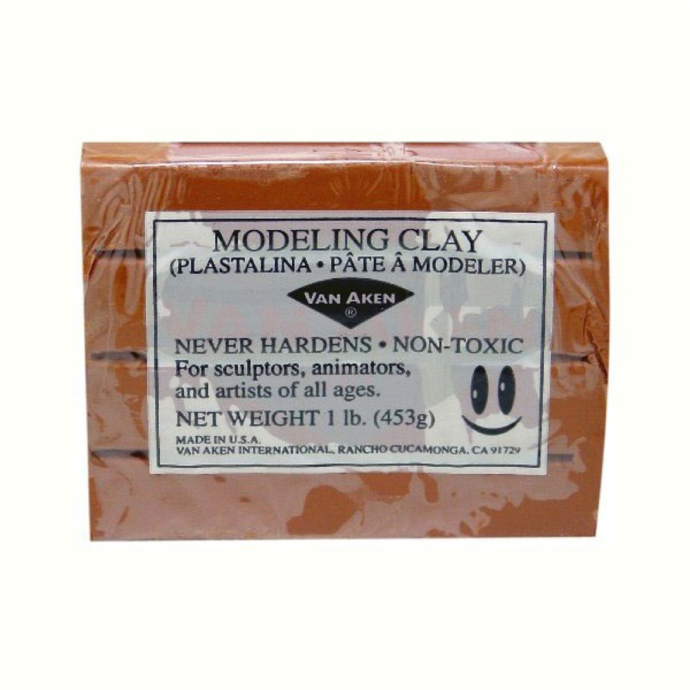 Van Aaken Modeling Clay 1Lb Brown