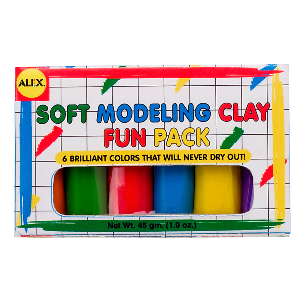 Alex Modeling Clay - 6 Color Mini Fun Pack