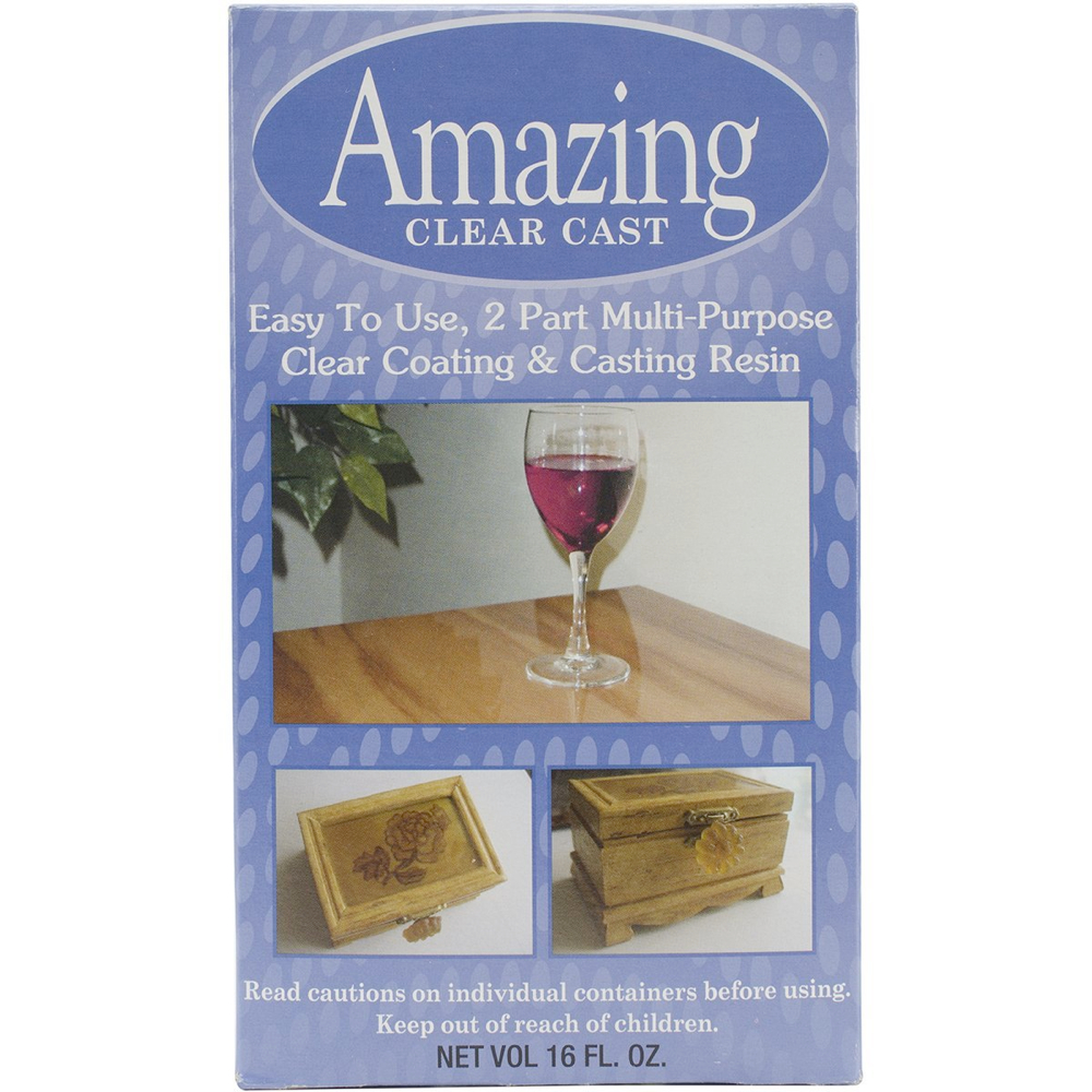 Amazing Clear Cast Kit 16 Fl Oz