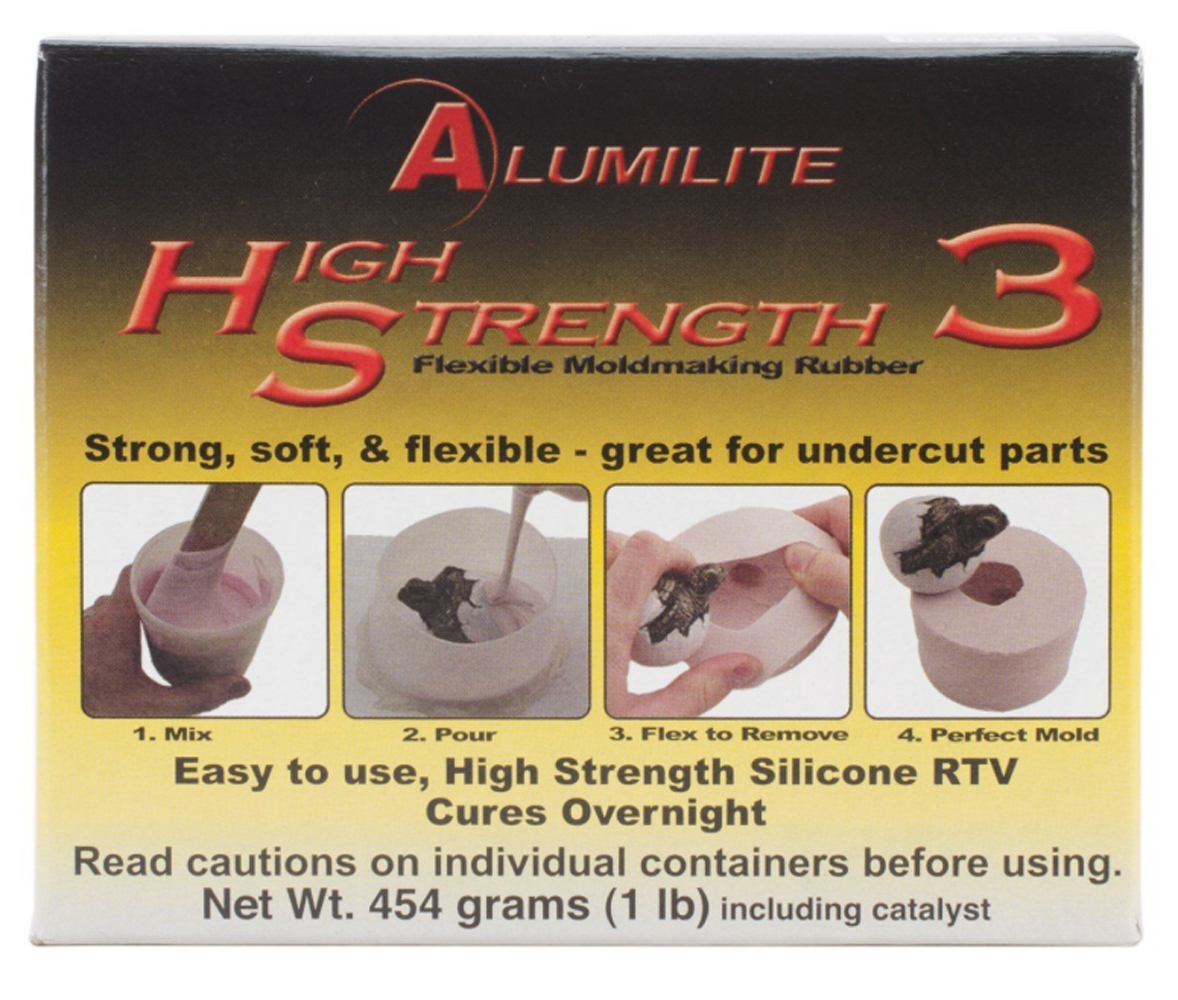 Alumilite High Strength 3 Rtv Mold Making Rub