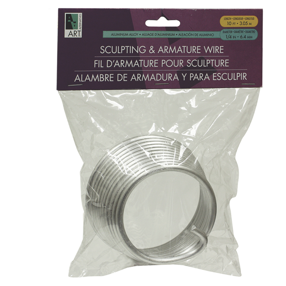 Armature Wire 1/4X10Ft Coil