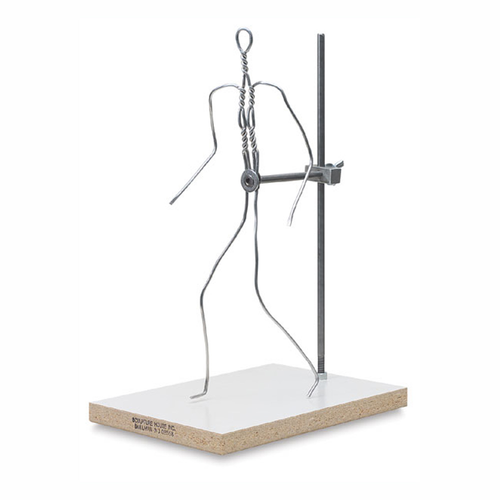 Sculpture House Wire Armature 12-In Figure