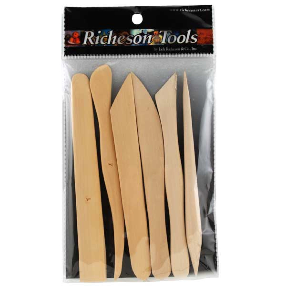 Boxwood 6In Modeling Tool Set Of 6