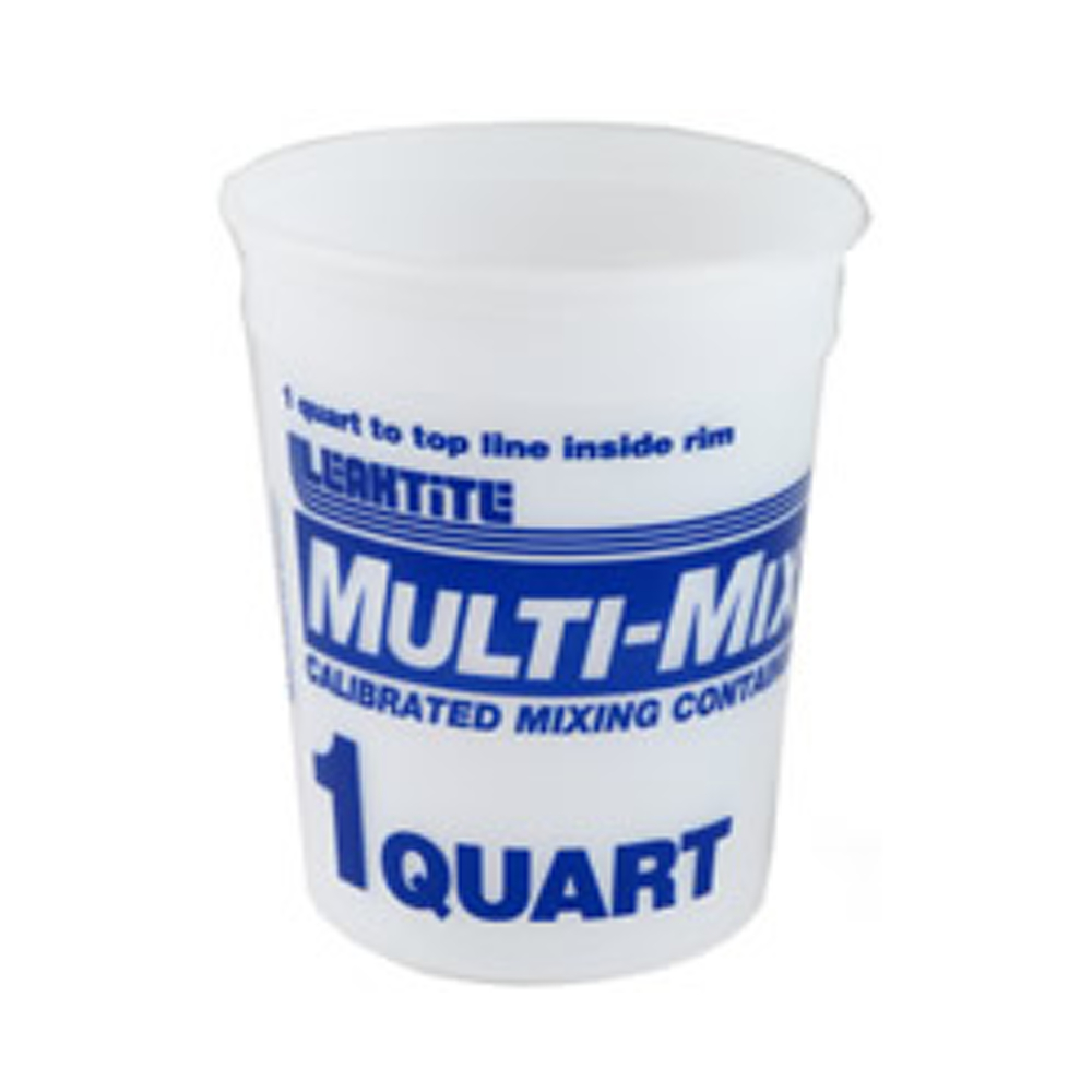 Multi-Mix Plastic Container 1 Qt.