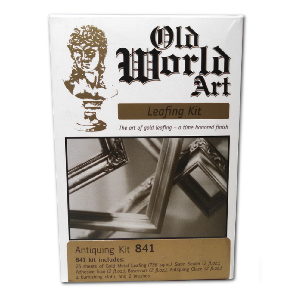 Old World Antique Imitation Gold Leaf Kit