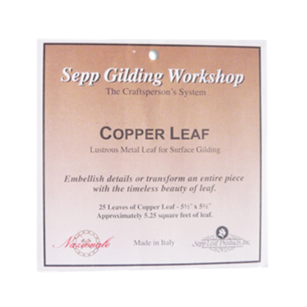 Sepp Copper Leaf Book Of 25