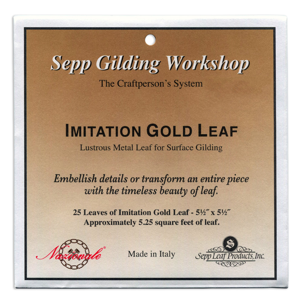 Imitation Gold Leaf Book Of 25 Sheets