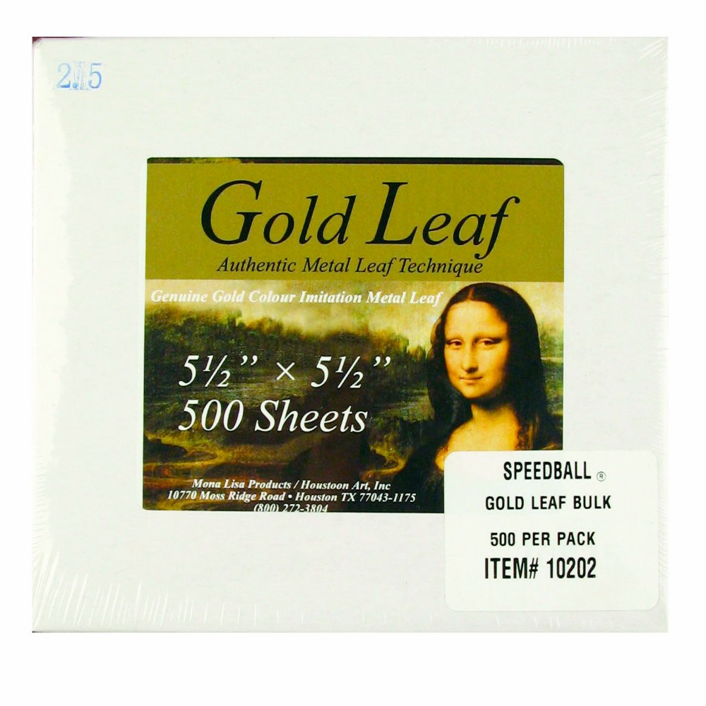 Mona Lisa Composition Gold Leaf Bulk/500 Shts