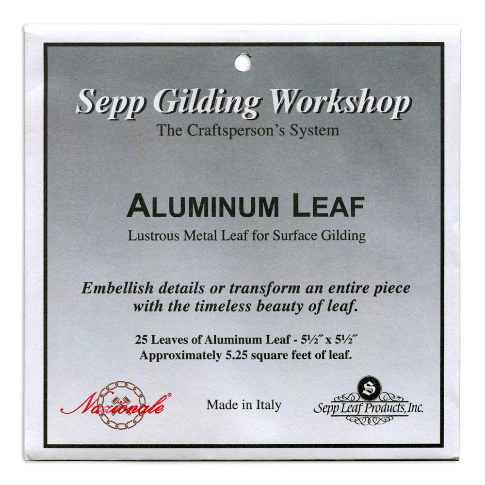 Sepp Aluminum Leaf Book Of 25