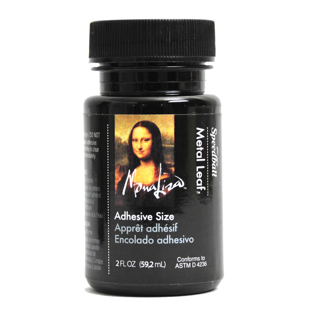 Mona Lisa Gold Leaf Adhesive 2 Oz