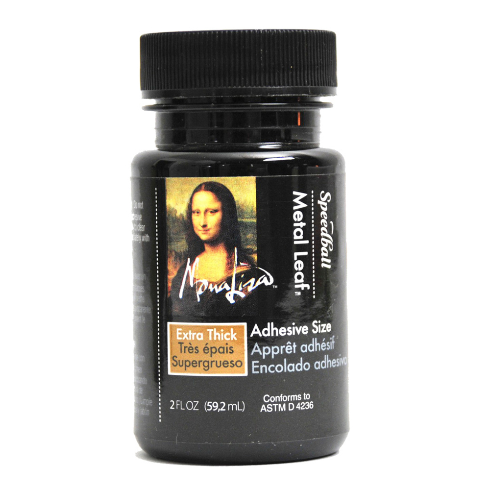 Mona Lisa Thick Metal Leaf Adhesive 2 Oz