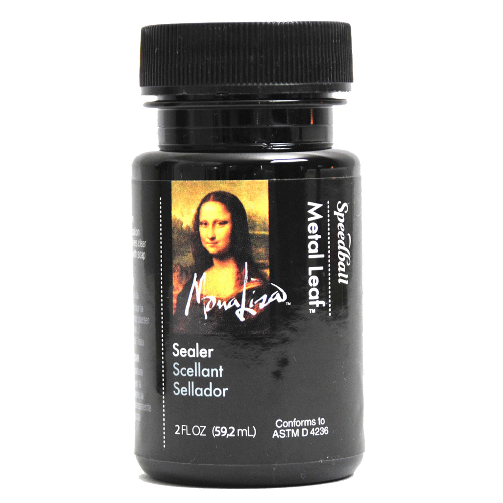 Mona Lisa Gold Leaf Sealer Waterbased 2 Oz