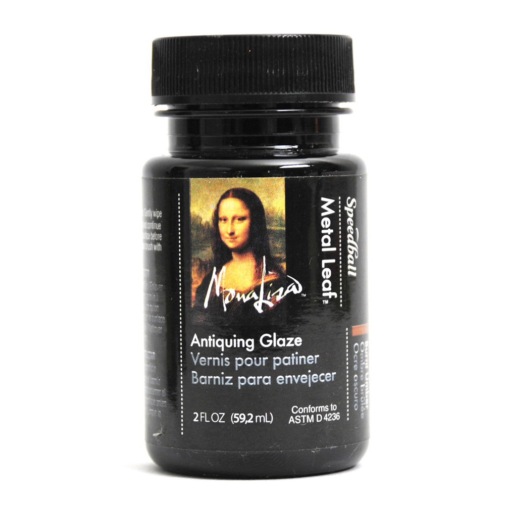 Mona Lisa Antiquing Glaze Waterbased 2 Oz