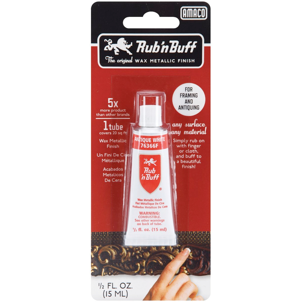Rub N' Buff 1/2 Oz Ant White