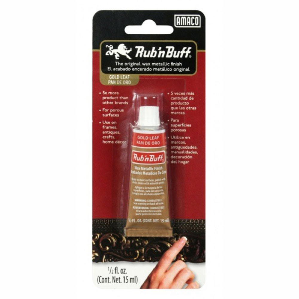 Rub N' Buff 1/2 Oz Gold Leaf