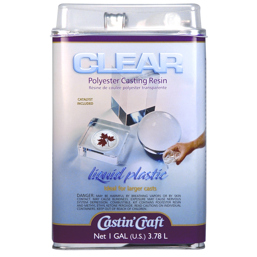 Clear Casting Resin With Catalyst Gallon