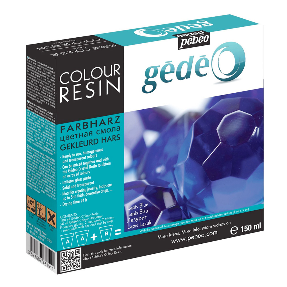 Gedeo Color Resin Lapis 150Ml