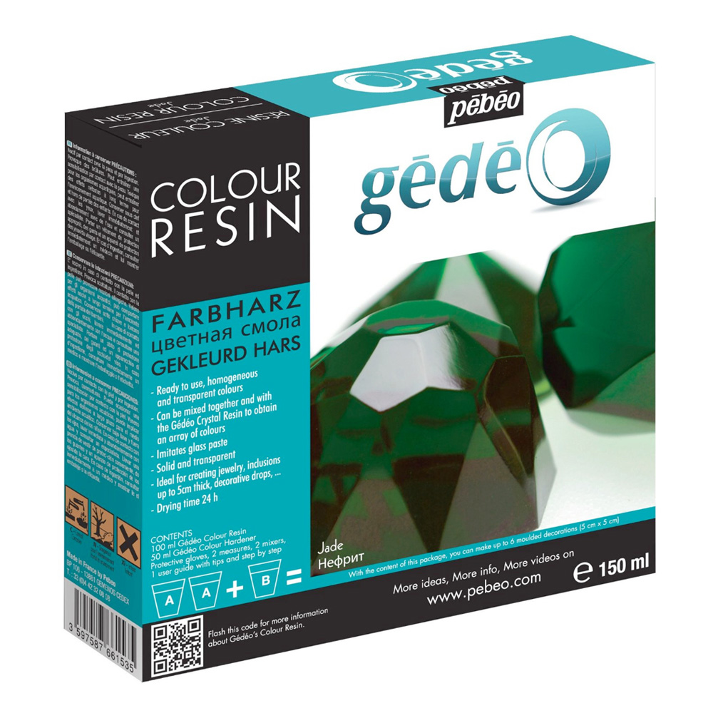Gedeo Color Resin Jade 150Ml